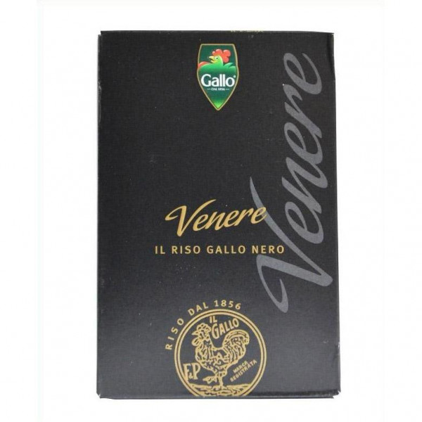 Riso Gallo Venere Reis / Vollkorn schwarz 500 g