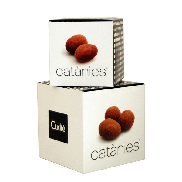 Catanies Dark chocolate Cube 100g
